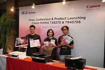 Canon PIXMA TS8270 dan Canon PIXMA TR4570s, Duo Printer Untuk Berkreasi dan Cetak Dokumen