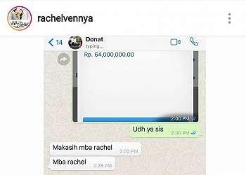 Salah Transfer saat Beli Donat, Netizen Kepo Rekening Selebgram Ini