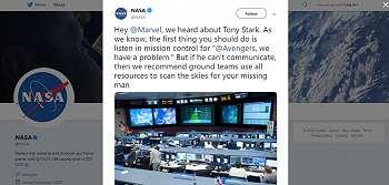 Mau Selamatkan Tony Stark, NASA Tawarkan Hal Ini ke Marvel