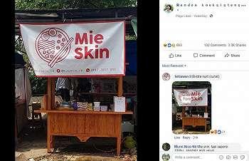 Cocok Buat Sobat Misqueen, Warung Ini Bikin Heboh Netizen