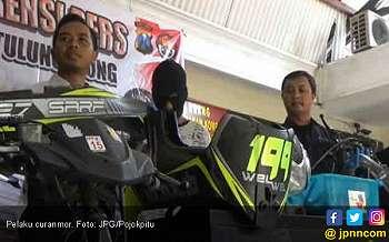 Rasain, Tertangkap Setelah Jual Motor Curian di Medsos