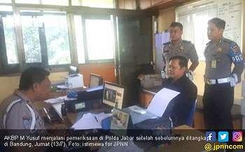 Perwira Polda Babel Penganiaya Ibu-ibu Dibekuk di Bandung