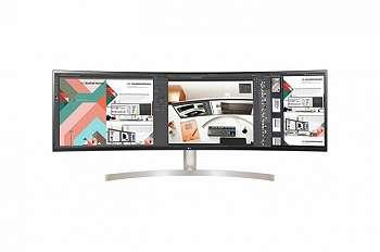 LG 49WL95C-W: Monitor Lengkung 49 Inci dengan Resolusi 5K dan Stereo Speaker