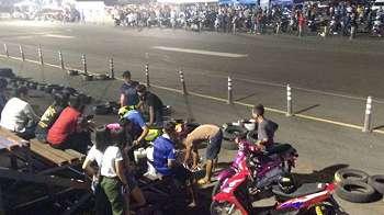 Balap Jalanan di Sirkuit Buriram Thailand Tak Kalah Seru dari MotoGP
