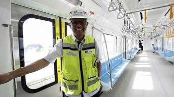 Maret Operasi, Waktu Tunggu MRT Jakarta 5-10 Menit per Kereta