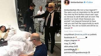 Cerita Kim Kardashian Dibuat Menangis dan Bahagia oleh Karl Lagerfeld