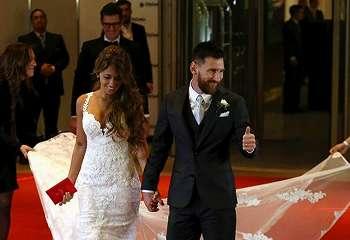 Lionel Messi gelar pernikahan abad ini