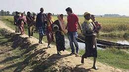 Amnesty: Militer Myanmar lakukan 'kejahatan kemanusiaan' terhadap Rohingya