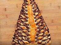 Pohon Natal Puff Pastry Nutella Ini Bisa Jadi Dessert Praktis untuk Natal