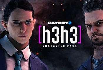 Karakter Youtuber Ternama     h3h3 Kini Tersedia di Payday 2