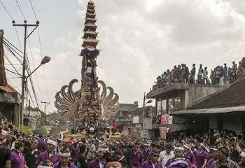 Kuburan Badung-Bali Sudah Dilengkapi Wantilan