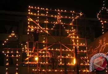 Bengkalis akan Meriah oleh Tradisi Lampu Colok Ramadan