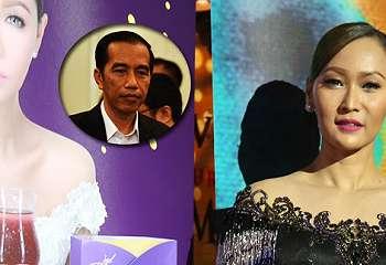 Pulang Dari Singapura, Inul Daratista Dapat Kejutan Dari Jokowi