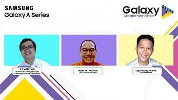 Galaxy Creator Workshop, Semua Bisa Jadi Content Creator