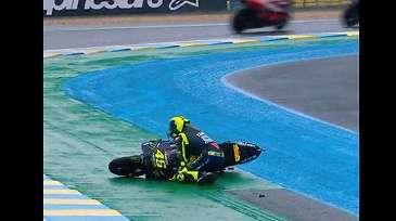 Di Balik Peforma Hancur-hancuran, Valentino Rossi Sebenarnya Mengalami Peningkatan